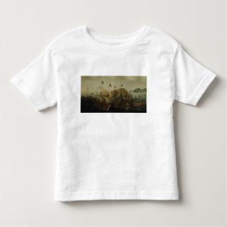 海の行為、多分カディス1596年の戦い トドラーTシャツ