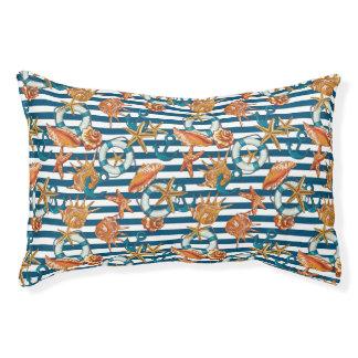 海の貝およびいかりパターン