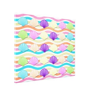 海の貝のキャンバスプリントのプリント キャンバスプリント