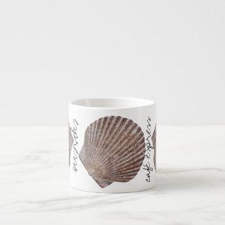 海の貝のデザイン エスプレッソカップ