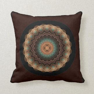 海の貝の万華鏡のように千変万化するパターンの曼荼羅の装飾用クッション クッション