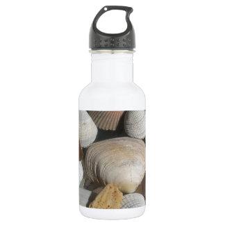 海の貝、サーファーのスタイル ウォーターボトル