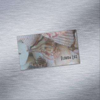海の貝 マグネット名刺