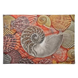 海の貝 ランチョンマット