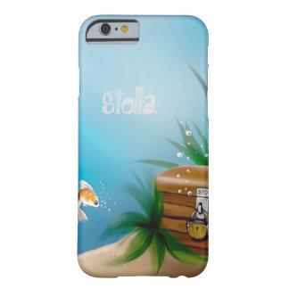 海の金魚の発見の宝物 BARELY THERE iPhone 6 ケース