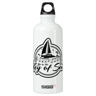 海の鍵の生命 ウォーターボトル