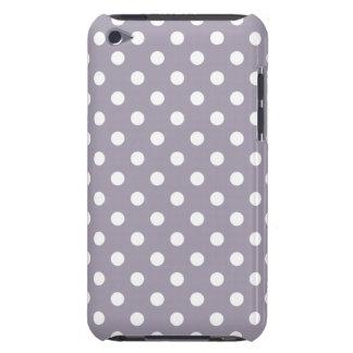 海の霧の紫色の水玉模様のipod touch G4の箱 Case-Mate iPod Touch ケース
