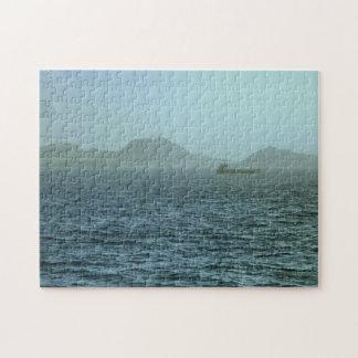 海の霧深い朝 ジグソーパズル
