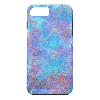 海の青カール iPhone 8 PLUS/7 PLUSケース