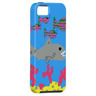 海のiPhone 5/5sの例の熱帯魚 iPhone SE/5/5s ケース