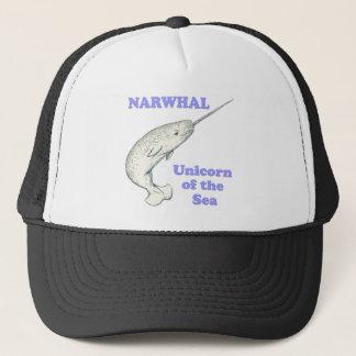 海のNarwhalのユニコーン キャップ