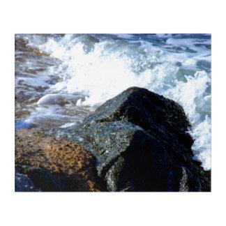 海はIIを洗浄しました アクリルウォールアート