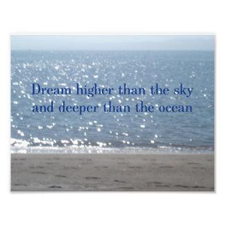 海より夢の深い フォトプリント