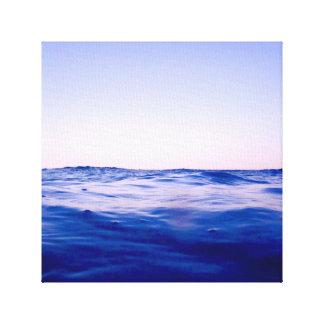海を均等にするバハマ キャンバスプリント