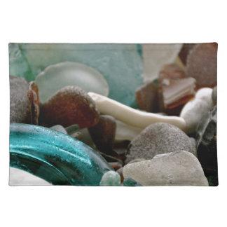 海ガラスの破片 ランチョンマット