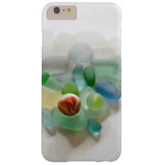 海ガラス、ビーチの大理石 BARELY THERE iPhone 6 PLUS ケース