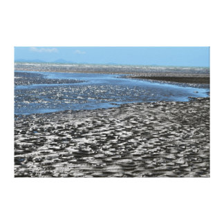 海クイーンズランドビーチオーストラリア キャンバスプリント