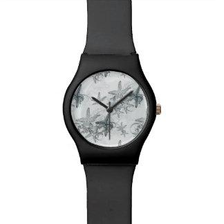 海パターンのヒトデ 腕時計