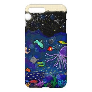 海上の星明かりの夜 iPhone 8 PLUS/7 PLUSケース