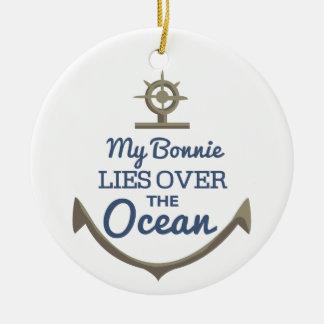海上の私の魅力的なうそ セラミックオーナメント