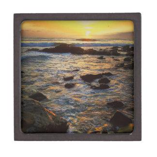 海上の美しい日没 ギフトボックス