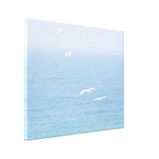 海上の鳥 キャンバスプリント