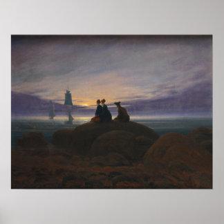 海上のMoonrise ポスター