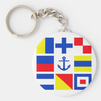 海上旗のキーホルダー キーホルダー