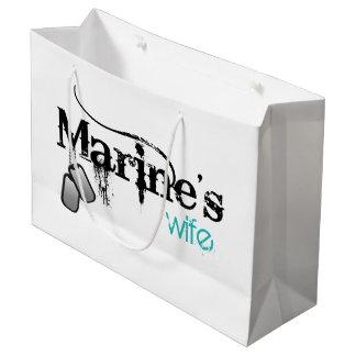 海兵隊員の妻 ラージペーパーバッグ