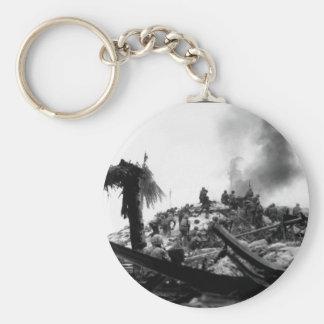 海兵隊員の嵐タラワ。  Gilbert_Warのイメージ キーホルダー