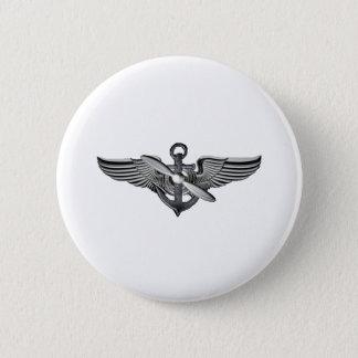 海兵隊員の試験翼 5.7CM 丸型バッジ