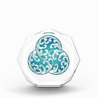 海力の水晶の目的 表彰盾