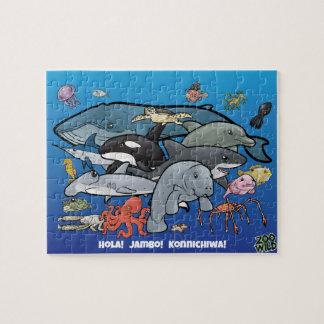 海動物-ジグソーパズル ジグソーパズル