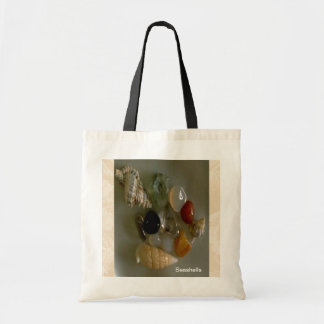 海岸による貝殻 トートバッグ