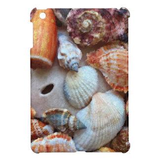海岸による貝殻 iPad MINIケース