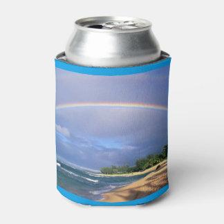 海岸に位置する虹はクーラーできます 缶クーラー