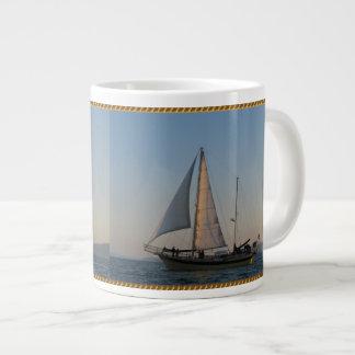 海岸に戻る ジャンボコーヒーマグカップ