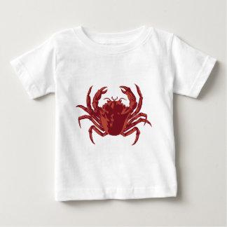 海岸のカニ ベビーTシャツ