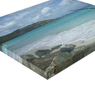 海岸のキャンバス キャンバスプリント