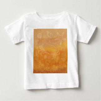 海岸の勉強 ベビーTシャツ