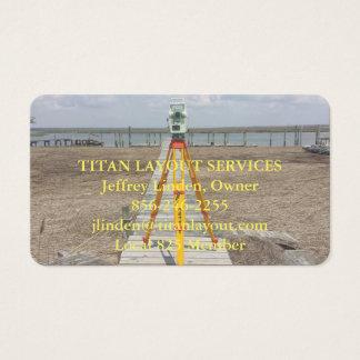 海岸の土地の検査官 名刺