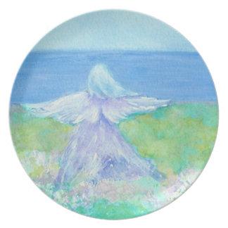 海岸の天使のプレート プレート