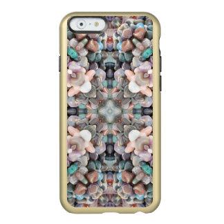 海岸の石造りの宝物フラクタル INCIPIO FEATHER SHINE iPhone 6ケース