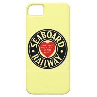 海岸の航空路鉄道のハートのロゴ iPhone 5 ベアリーゼアケース