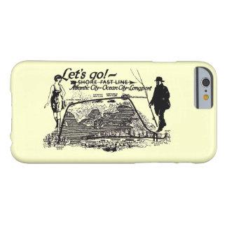 海岸の速いライントロリーヴィンテージ1910年 BARELY THERE iPhone 6 ケース