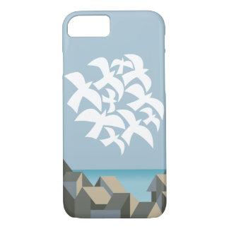 海岸のiPhone 7のやっとそこに例のクーラー iPhone 8/7ケース