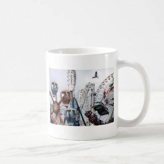 海岸桟橋のマグI コーヒーマグカップ