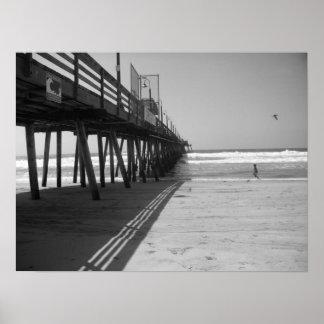 海岸桟橋 ポスター