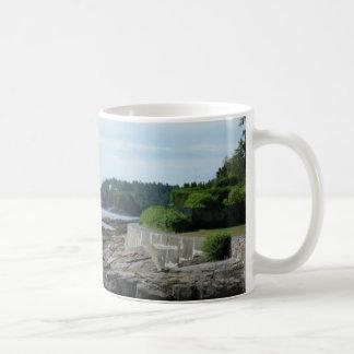 海岸道、バー港、メインのマグ コーヒーマグカップ