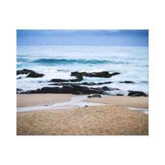 海岸 キャンバスプリント